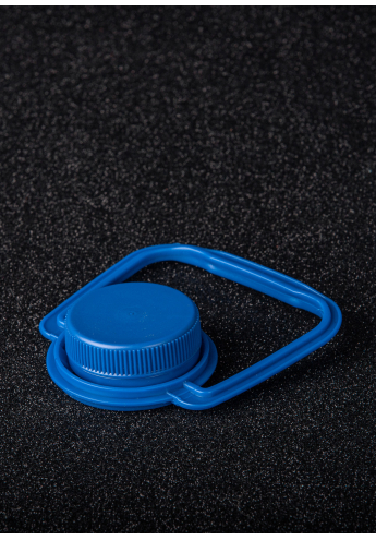 Plastic lid with handle