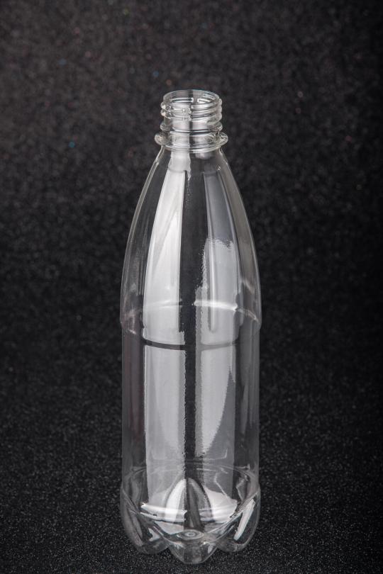 Пластикова (ПЕТ) пляшка, об'єм - 0,5 л - 1