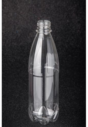 Пластикова (ПЕТ) пляшка, об'єм - 0,5 л