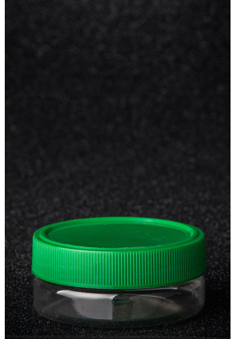 PET plastic edged jar, volume - 50 ml