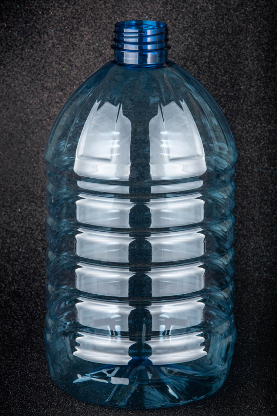 Пластиковая (ПЭТ) бутылка, объем - 5 л - 1