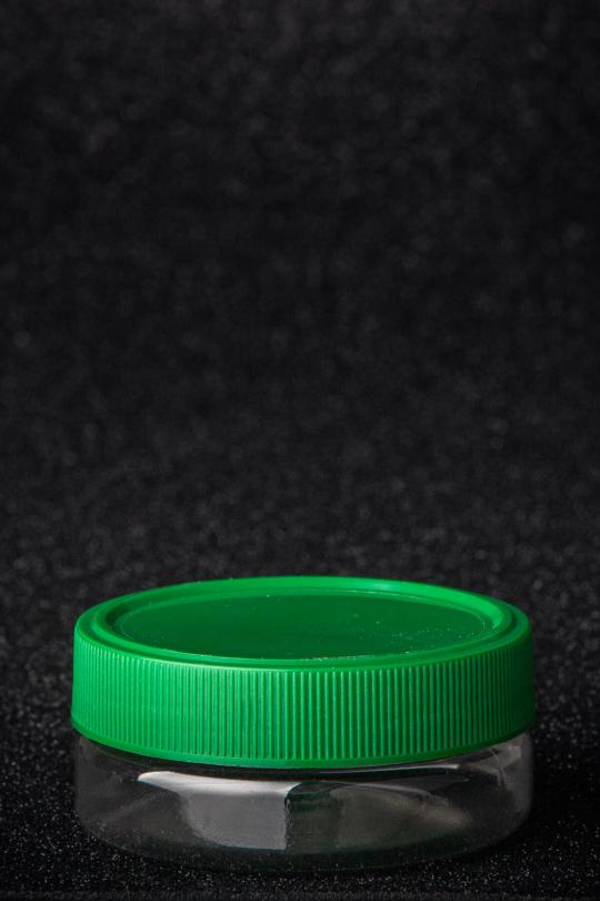 PET plastic edged jar, volume - 50 ml - 1