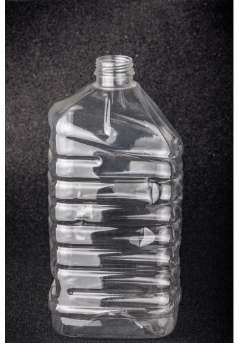 Plastic bottle, volume - 3 l (throat diameter - 38 mm)