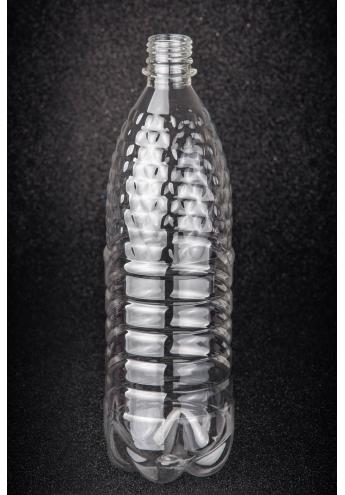 Пластикова (ПЕТ) пляшка, об'єм - 1 л