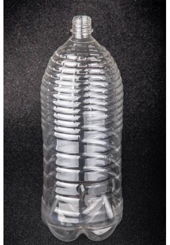 ПЕТ пляшка пластикова, об'єм - 3 л