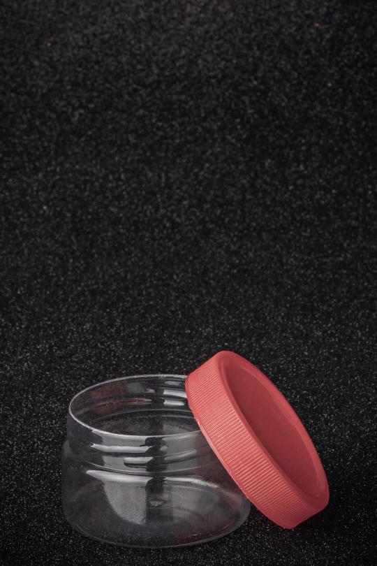 ПЕТ банка пластиковая обрезная, объем - 100 мл - 2